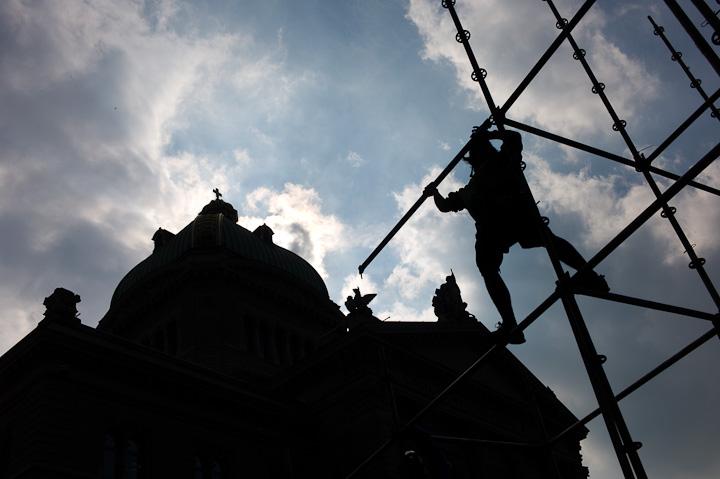 Nüssli Gerüstebau Bundeshaus Bern