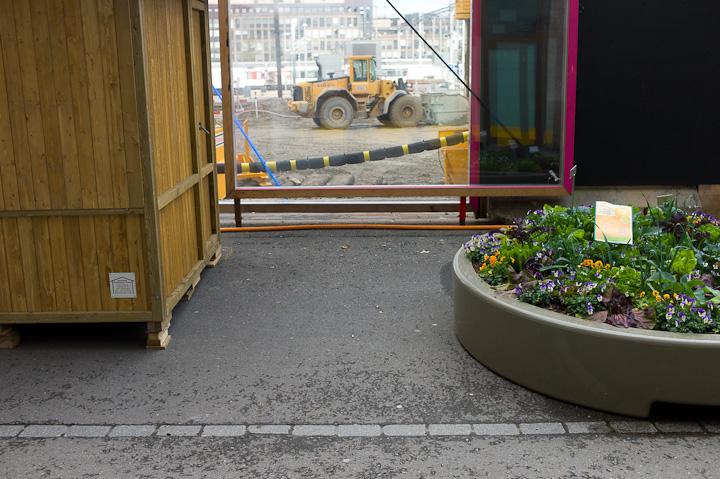 Urban Gardening Europa Allee Zürich