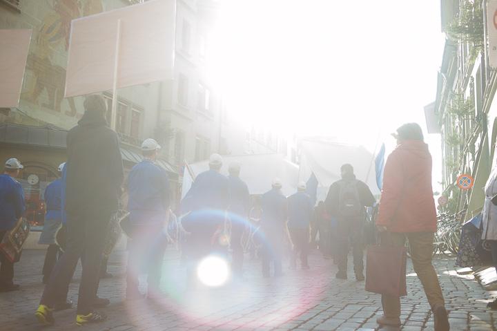 Bauern demonstrieren in Bern