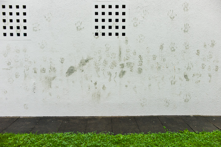Grüne Hände