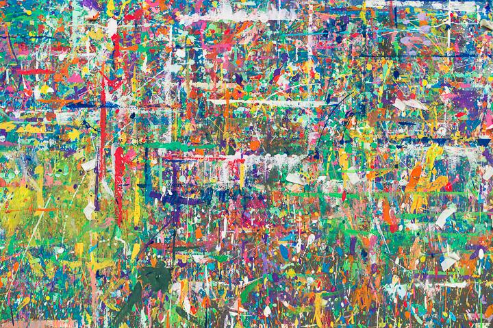 Wandmalerei Zentrum Paul Klee