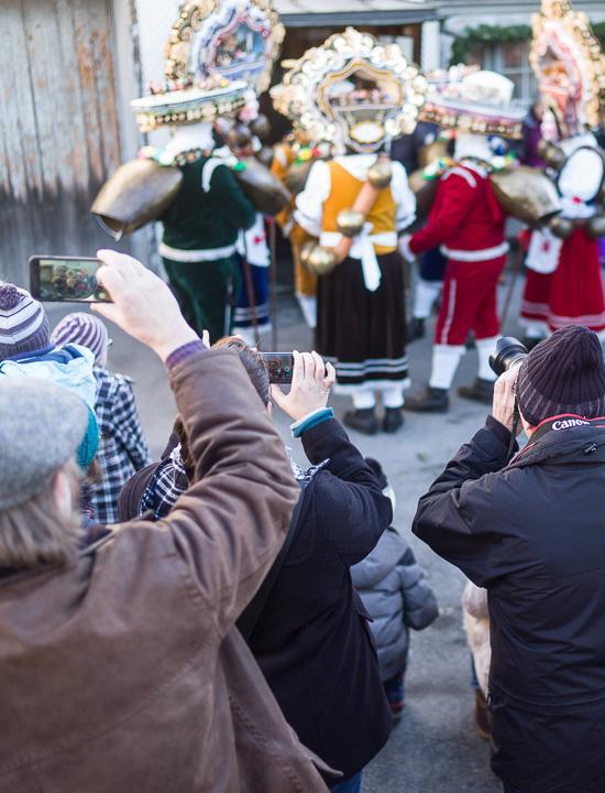 Silvesterchlausen Urnäsch 2017